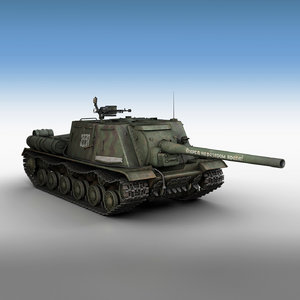 3D isu-122 - 3338 heavy
