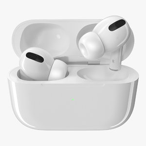3D apple airpods pro wireless