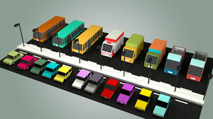 vehicle asset 3D