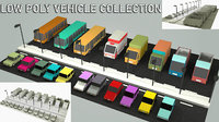 vehicle asset 3D