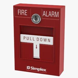 3D manual alarm