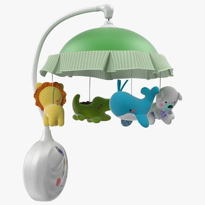baby projector mobile 3D model