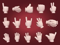 Hand Emoji Signs - Icons Pack