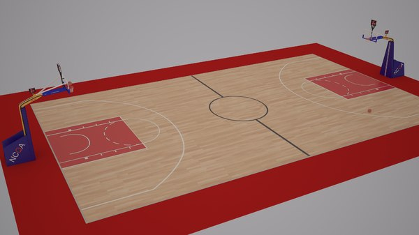 official basketball court ball model