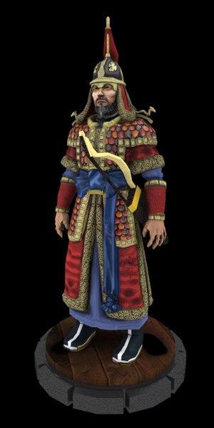 3D admiral yi