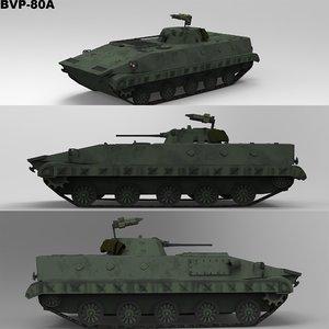 bvp-80a transport carrier 3D model