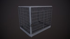 cage - silver 2k 3D