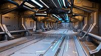 Sci-Fi Modular Corridor 2