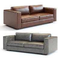 maddox leather sofa 3D model