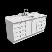 Marble Top Bathroom Sink