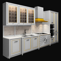 3D kitchen dama di quadri