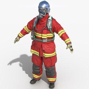 3D fireman extreme france