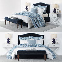 Pottery Barn - Raleigh Blue Bed