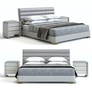 3D model baker furniture tashmarine bed