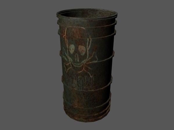oil barrel contains model