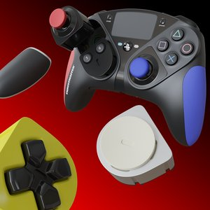 3D eswap controller model