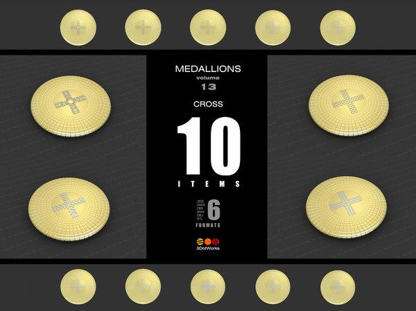 medallions vol 13 cross model