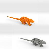 3D rats mouse model