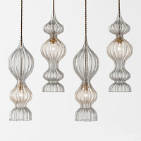 3D rothschild bickers spindle pendants model