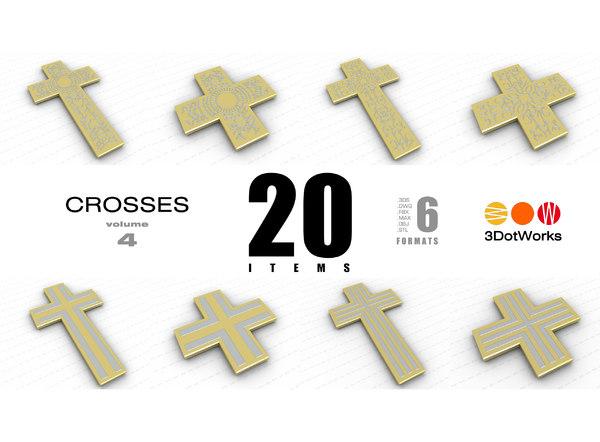 3D crosses vol 4 model
