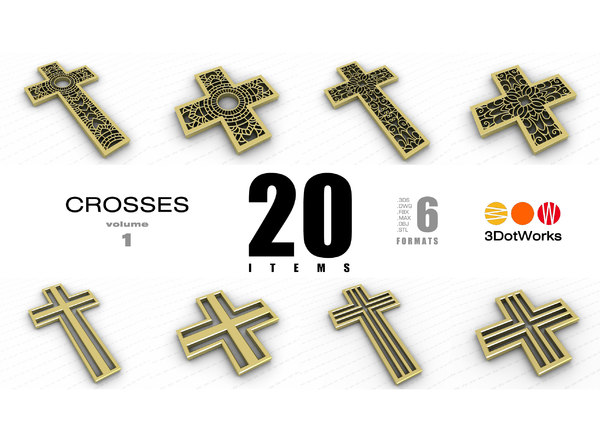 crosses vol 1 3D model