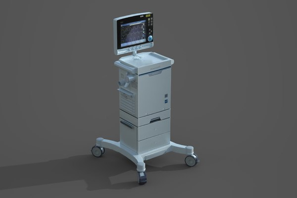 3D model servo-i ventilator