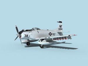 skyraider douglas a-1 model