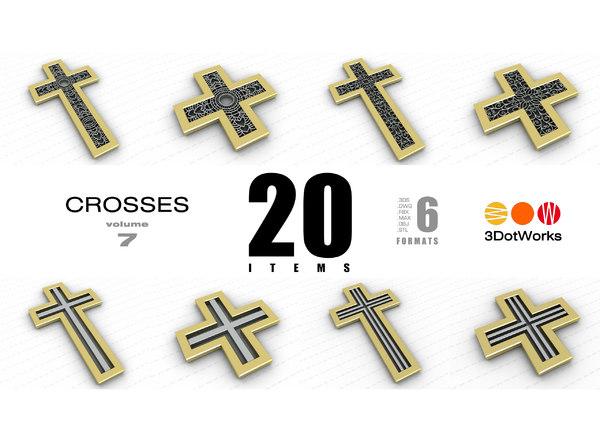 crosses vol 7 3D model