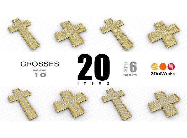 crosses vol 10 3D model