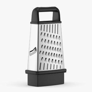 box grater 3D