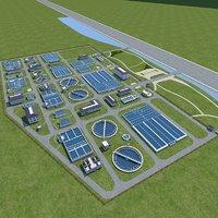 Sewage Water Treatment Station