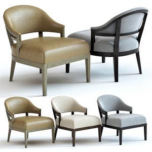 sofa chair ava armchair 3D