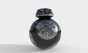 bb-8e droid star 3D