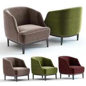sofa chair lloyd armchair 3D model