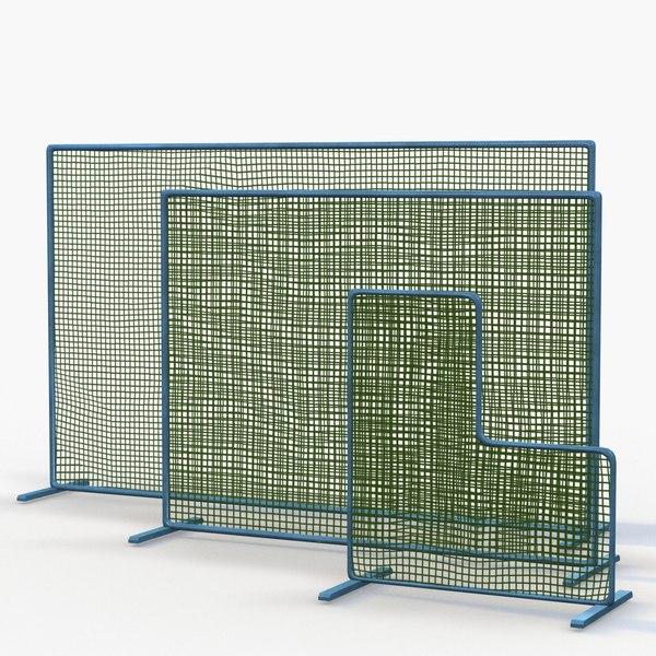 baseball softball practice net model