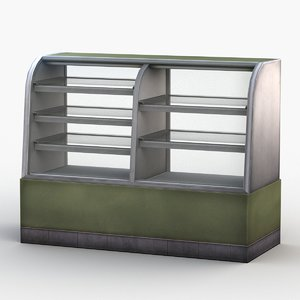 refrigerated display 3D model