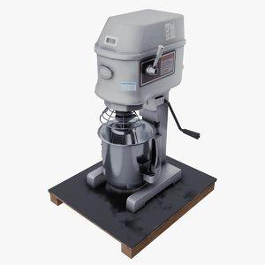 3D professional mixer