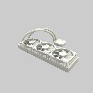 cooler cpu 3D model