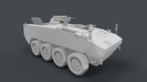 mowag piranha v 3D model
