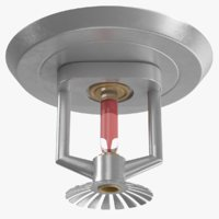 Fire Sprinkler 3D Model