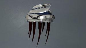 3D fi ship model