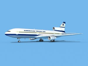 lockheed l-1011-10 air 3D model