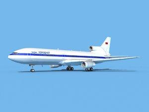 lockheed l-1011-10 3D model
