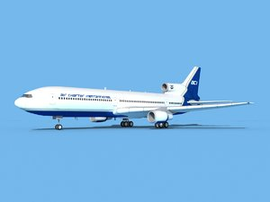 lockheed l-1011-10 air 3D