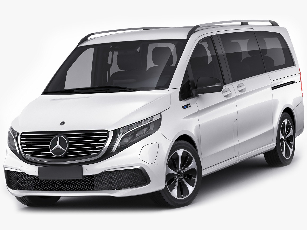 Mercedes benz eqv 3D model - TurboSquid 1488883
