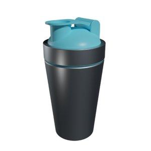 gym shaker 3D