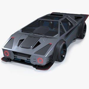 pbr concept 3D model