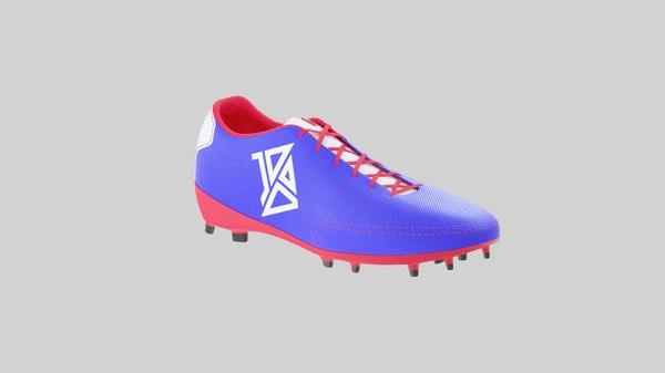 football shoes add 3D model
