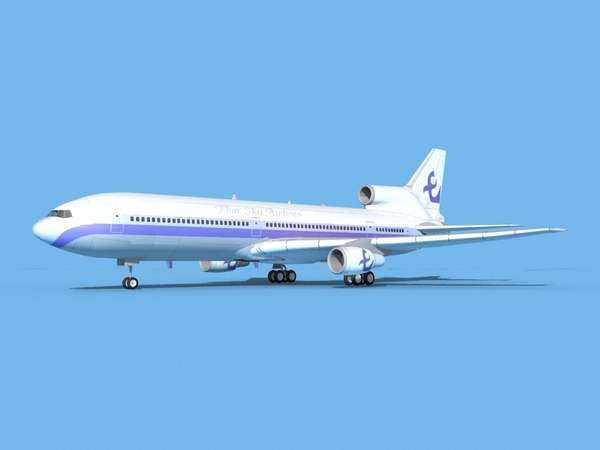 lockheed l-1011-10 airliner model