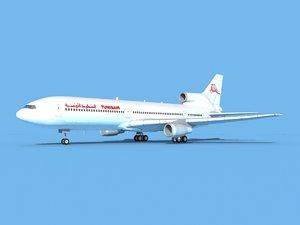 lockheed l-1011-10 air 3D model